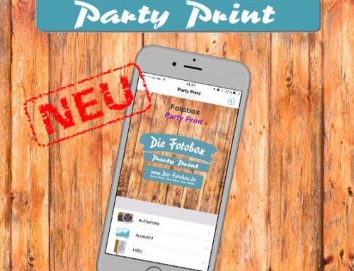 Fotobox Partyprint ab sofort verfügbar